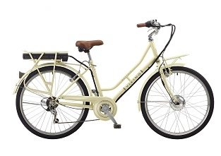 New Viking Mayfair Electric Step Through Bike Bycycle Cream